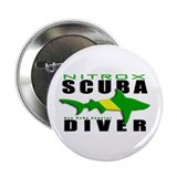 Scuba Diver: Nitrox Shark 2.25&quot; Button