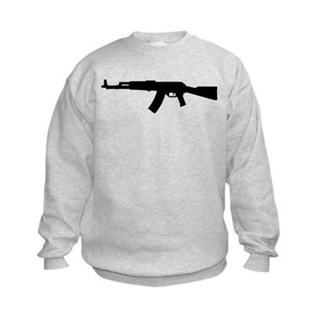 Rifle AK 47 Kids Sweatshirt