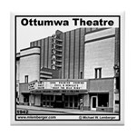 Ottumwa Theatre Tile Coaster