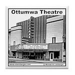 Ottumwa Theatre Tile Coaster