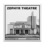 Zephyr Theater Tile Coaster
