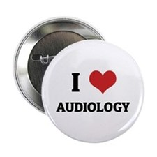 I Love Audiology Button