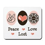 Peace Love Lost Mousepad