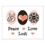 Peace Love Lost Small Poster
