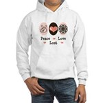 Peace Love Lost Hooded Sweatshirt