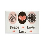 Peace Love Lost Rectangle Magnet (100 pack)