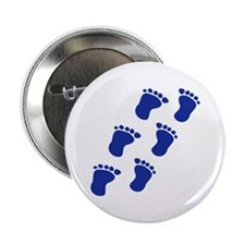 "Baby feet 2.25"" Button"