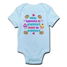 What happens at Grammy's stays Infant Bodysuit