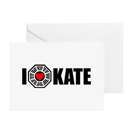 I Love Kate - Dharma Greeting Cards (Pk of 10)