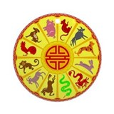 Chinese Zodiac Ornament (Round)
