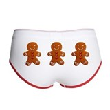 Gingerbread Man Women's Boy Brief