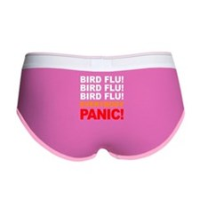 Bird Flu Everybody Panic Women's Boy Brief