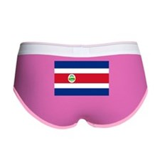 Costa Rica Flag Women's Boy Brief