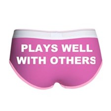Plays Well With Others Women's Boy Brief