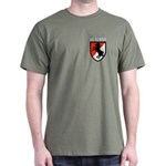 Green or Black T-Shirt 11th Cavalry Veteran