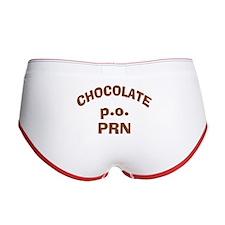 Chocolate p.o. PRN Women's Boy Brief