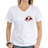 Bleeding Heart V-Neck Tee