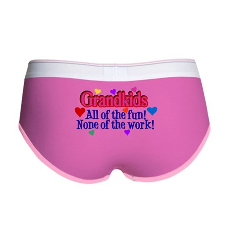 Grandkids - All the fun! Women's Boy Brief