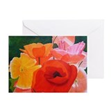 Brilliant Flowers Greeting Card