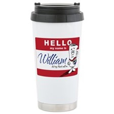School HOuse Rocks! Hello my Ceramic Travel Mug