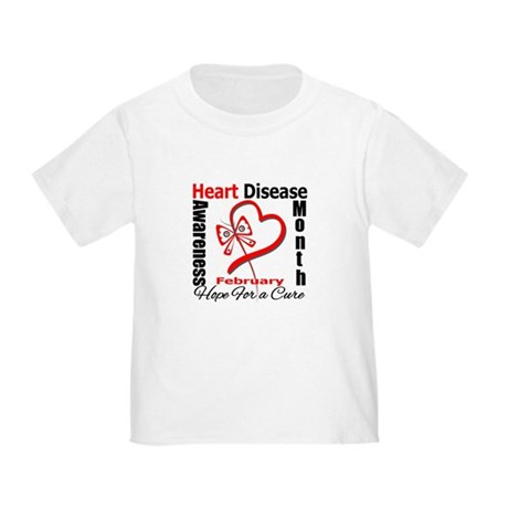 Heart Disease Month Toddler T-Shirt
