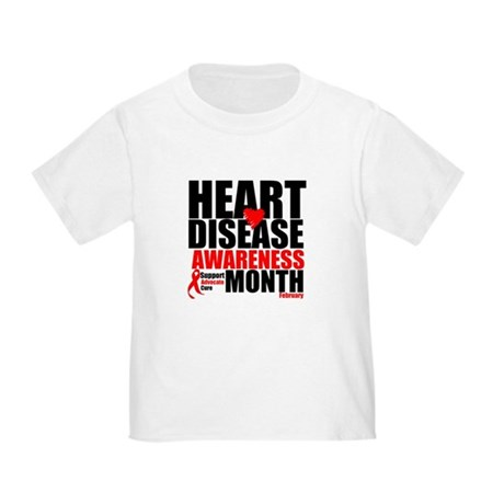 SupportHeartDiseaseMonth Toddler T-Shirt