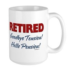 Retired: Goodbye Tension Hell Mug