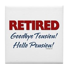 Retired: Goodbye Tension Hell Tile Coaster
