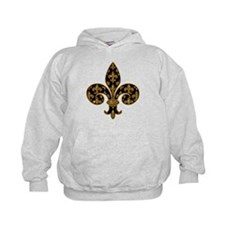 Fleur Fancy Football Hoodie