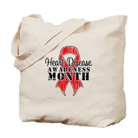 RedGrungeHeartDisease Tote Bag