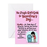 Single Girl's Guide Greeting Card