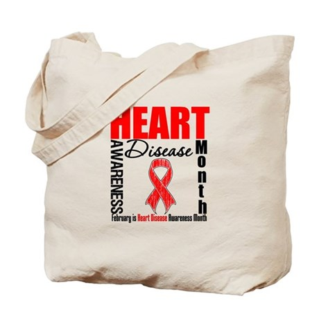 AwarenessMonthHeartDisease Tote Bag