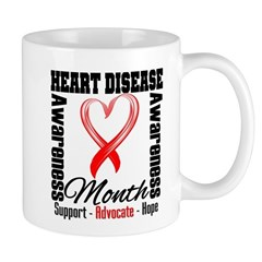 SupportHeartDiseaseMonth Mug