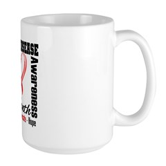 SupportHeartDiseaseMonth Large Mug