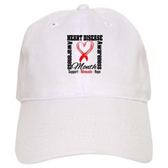 SupportHeartDiseaseMonth Cap