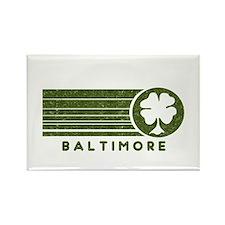 Baltimore Irish Rectangle Magnet