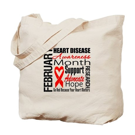 CollageHeartDisease Tote Bag