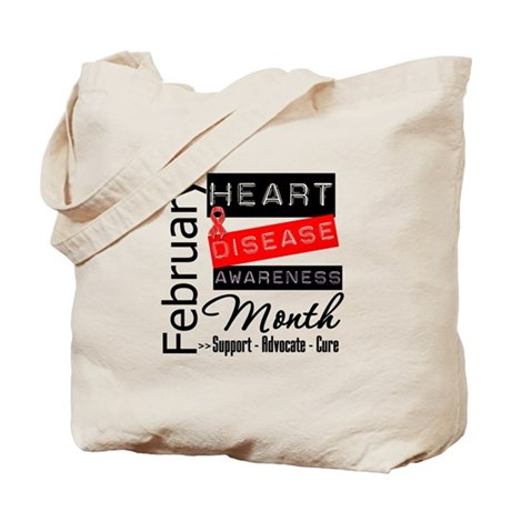 NationalHeartDisease Tote Bag