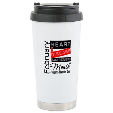 NationalHeartDisease Ceramic Travel Mug