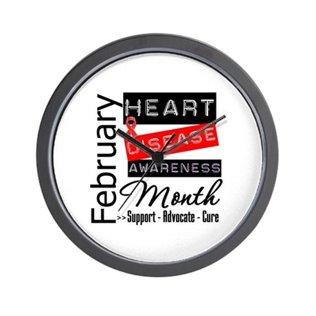 NationalHeartDisease Wall Clock
