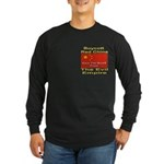 Boycott Red China Long Sleeve Dark T-Shirt