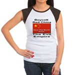 Boycott Red China Women's Cap Sleeve T-Shirt