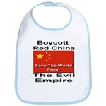 Boycott Red China Bib