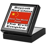 Boycott Red China Keepsake Box