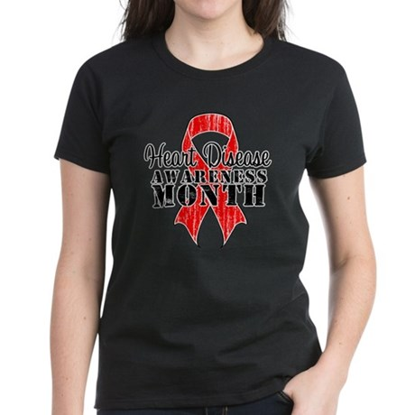 RedGrungeHeartDisease Women's Dark T-Shirt