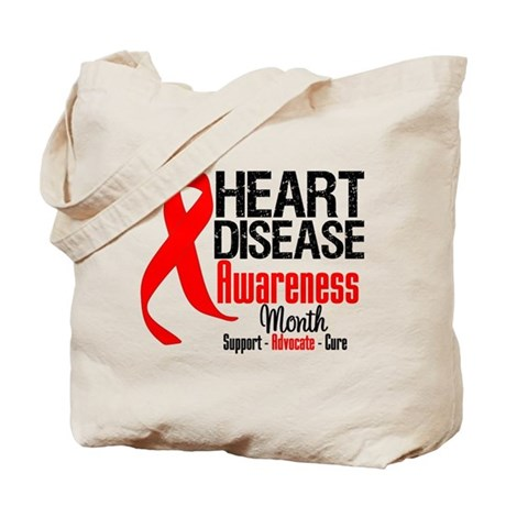 FebHeartDiseaseMonth Tote Bag