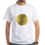 Here Comes the Surya Namaskar White T-Shirt