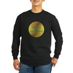 Here Comes the Surya Namaskar Long Sleeve Dark T-S