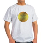 Here Comes the Surya Namaskar Light T-Shirt