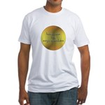 Here Comes the Surya Namaskar Fitted T-Shirt